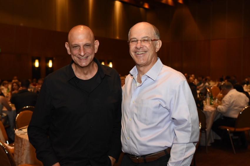 דיוויד אסיא ואהרון אהרון (צילום: אוהד הרכס ואיתי בלסון מכון ויצמן )
