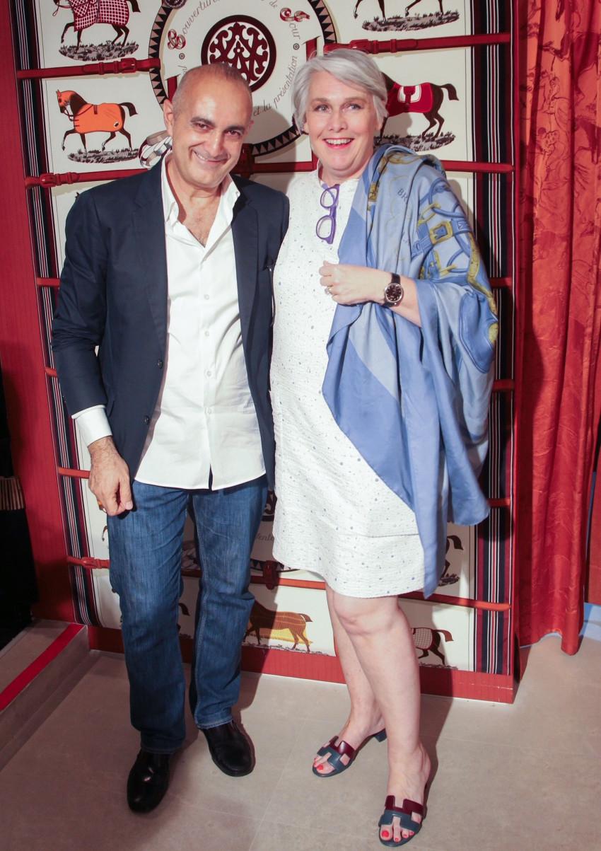 קארין פריסה ובני מורן (צילום: ניר קידר)