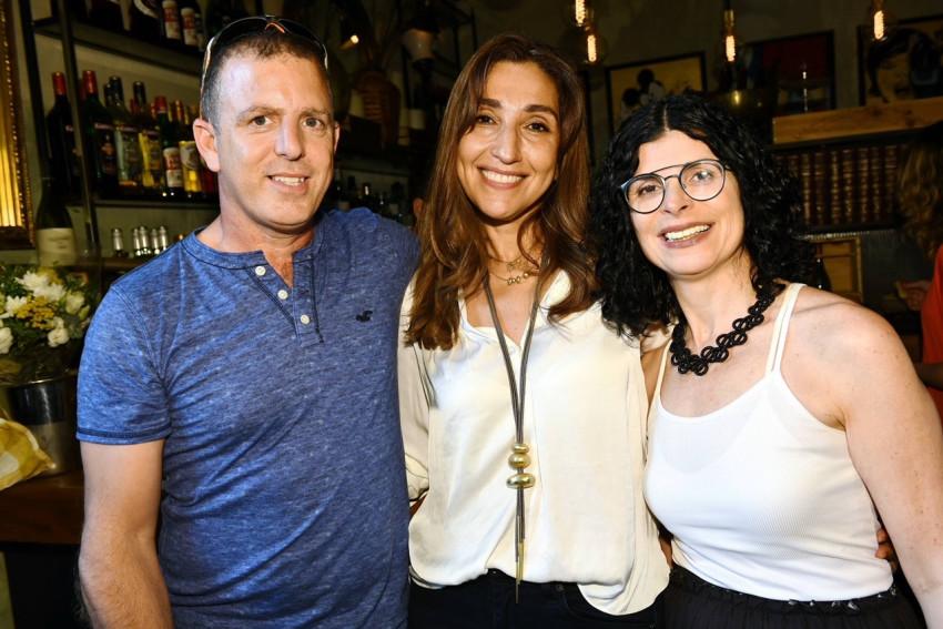 כרמית דותן, סיגל אביטן ויובל מטלון (צילום: ישראל הדרי)