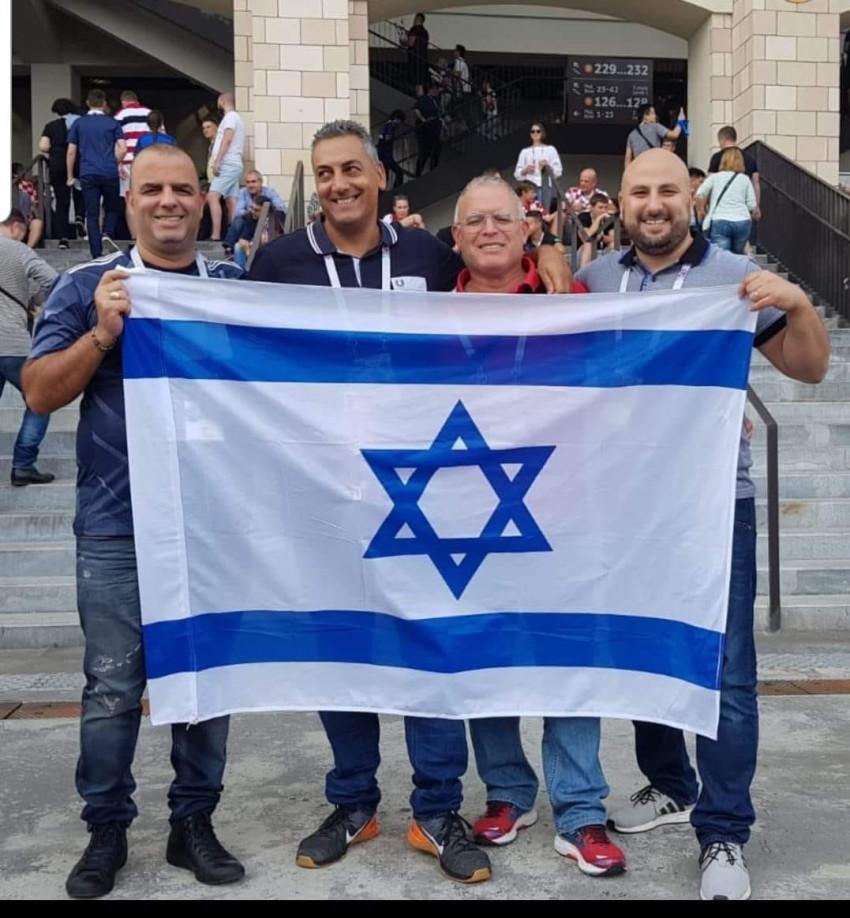 "טל בטיטו, אבי רביד, אריק גולן ואייל רביד (צילום: יח""צ)"