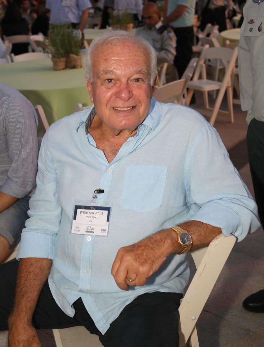 גיורא אקרשטיין (צילום: סיון פרג')