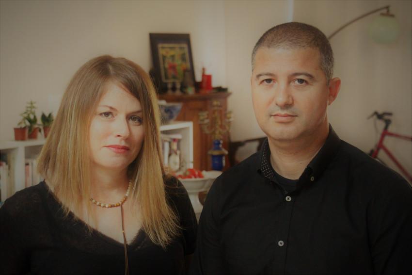 דוד דהאן ועטרה דזיקובסקי (צילום: דלית מרחב)