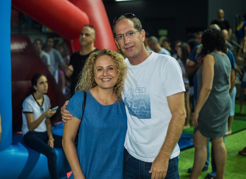 נדב ומירי גרינשפן (צילום: שלומי פרין)