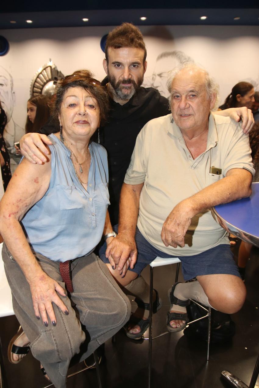 ירון ברלד והוריו