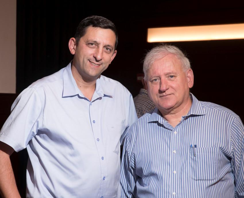 יאיר סרוסי ודורון ארנון (רמי זרנגר)