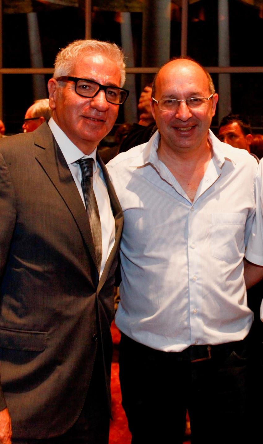 אבי ניסקורן ואמיר חייק (צילום: נמרוד אהרונוב)