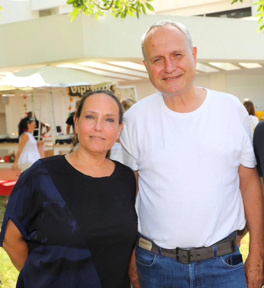 אודי מירון ואורלי אטלס כץ  (צילום: רפי דלויה)