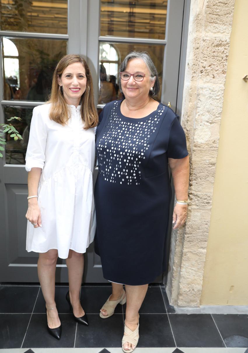 הלנה קצן וליאת גוטרמן (צילום: רפי דלויה)