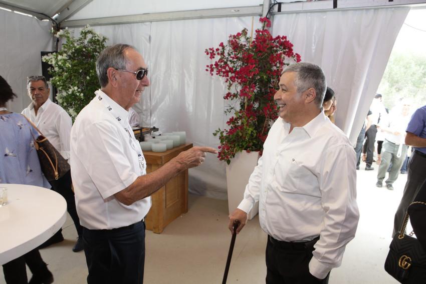 אריק פינטו ואורי דורי (צילום: אייל טואג)