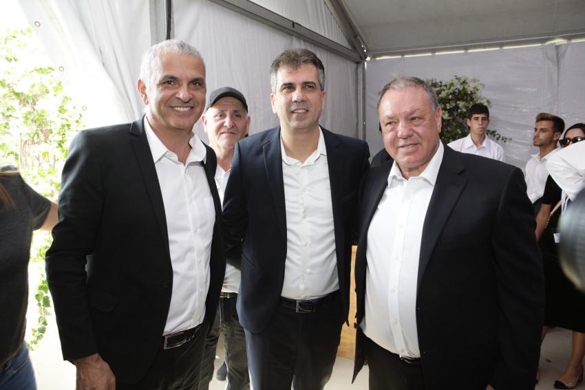 שמואל דונרשטיין, אלי כהן ומשה כחלון