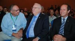 ניר ברקת, הנשיא ריבלין ופרופ