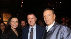 מיכאל שטראוס, יולי אדלשטיין ועופרה שטראוס