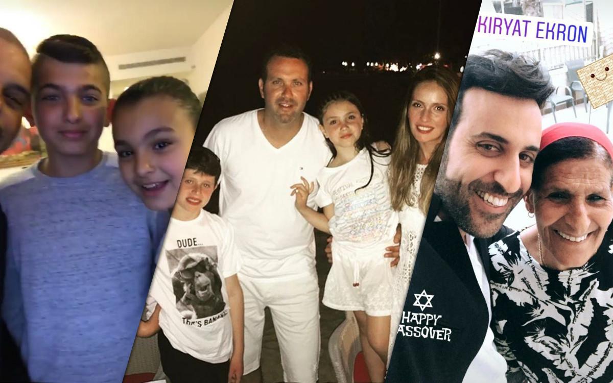 דודו אהרון, מלי לוי ושמעון גרשון, אייל גולן