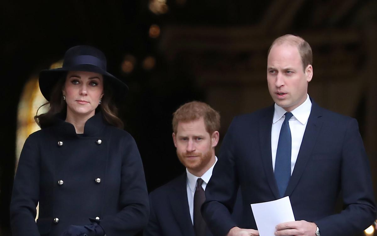 הנסיך וויליאם, הנסיך הארי, קייט מידלטון