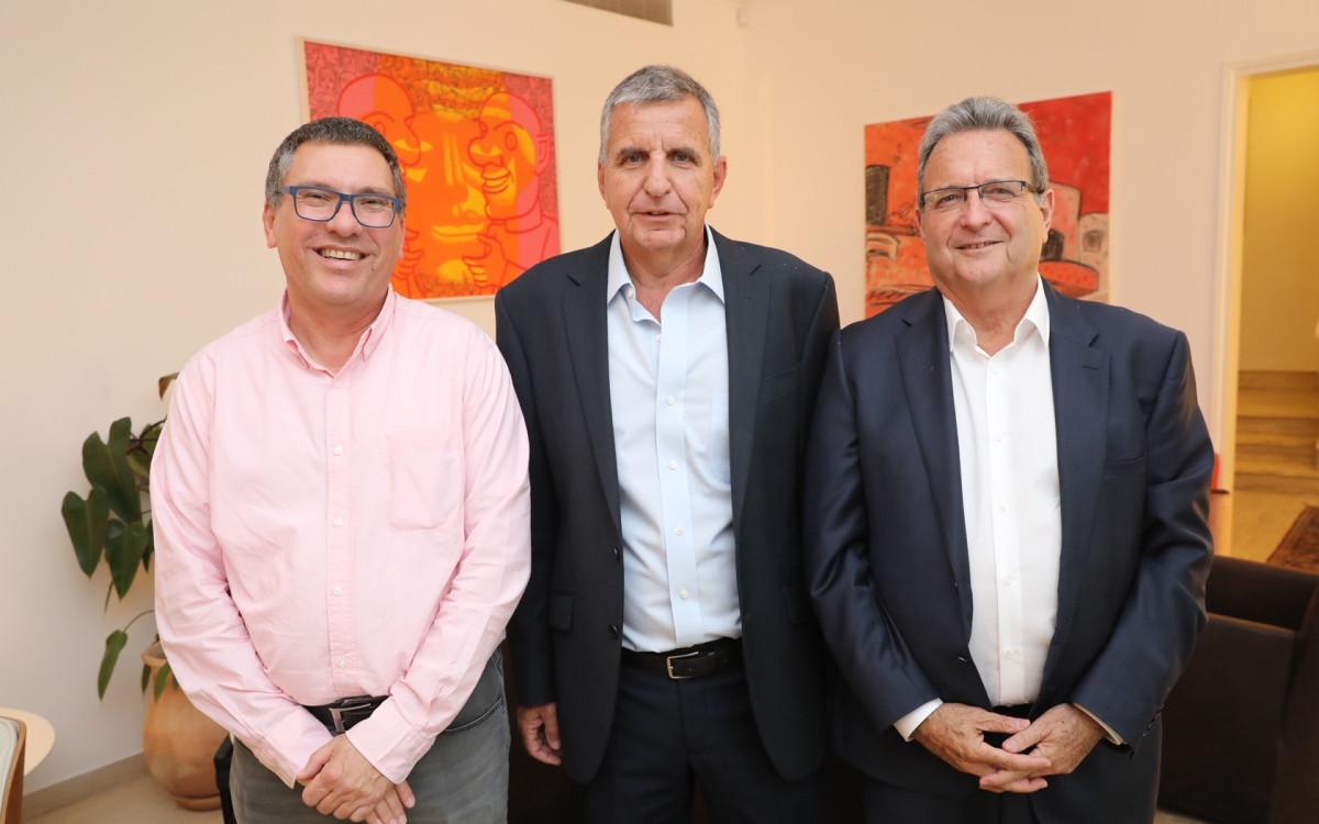 מאיר ברון, אמיר אשל ואורי שרוני