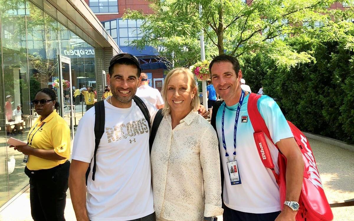 הלאונג'<br />סוגרים שבוע עם<br />אנדי רם וחוויות הטניס