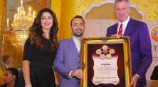 ביל דה בלאזיו, ראש עיריית ניו יורק, גבריאל ורעייתו חגית לבייב-סופייב