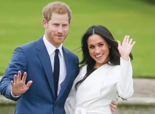הנסיך הארי ובת זוגו מייגן מרקל