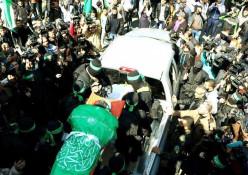 הלווייתו של מאזן פוקהא , בכיר חמאס
