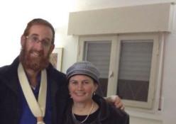 יהודה גליק ורעייתו