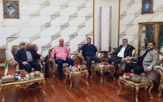 משלחת חמאס באיראן