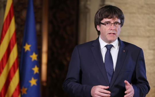 נשיא קטלוניה פוג