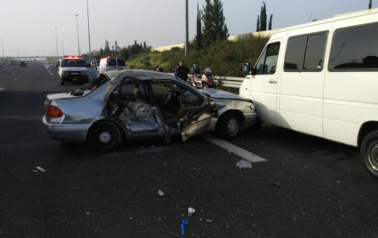 תאונת הדרכים בכביש 6