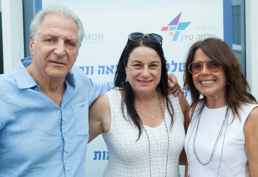 שולה רקנאטי, רונה רמון וליאון רקנאטי (צילום: ארז חרודי)
