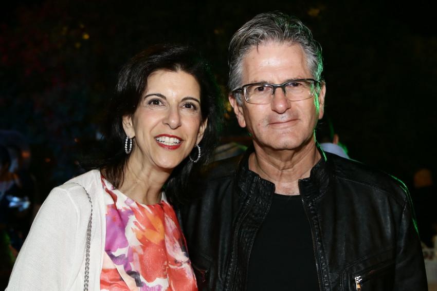 רון גרונדלנד ולינדה ששון (צילום: דני חבקוק)