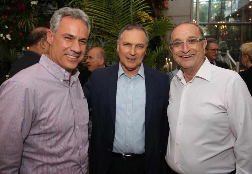 שמואל סיסו, יוחנן דנינו ואבי גונן (צילום: איציק בירן)