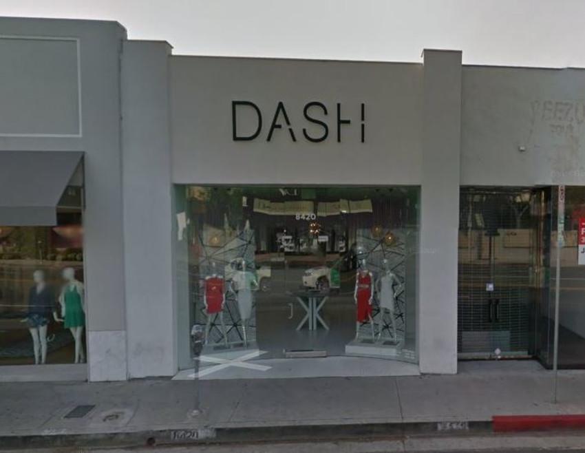 כך החנות בהוליווד נראית בדרך כלל. Dash של משפחת קרדשיאן