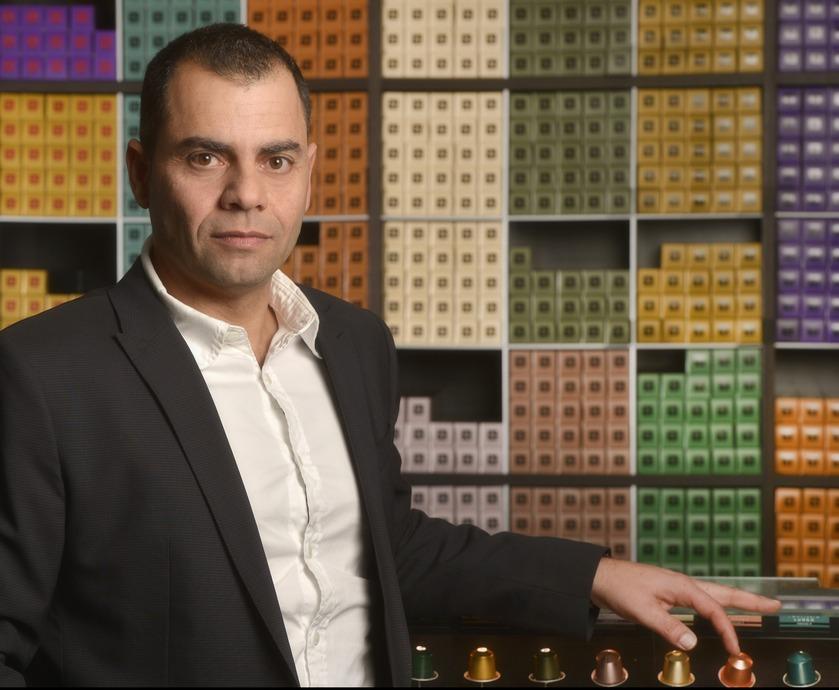 """משה מרי, מנכ""""ל נספרסו - """"בישראל אוהבים קפה חזק, עוצמתי ודומיננטי, זה די ייחודי לנו"""" (צילום: יוסי צבקר, אפי שמח, איתן וקסמן)"""