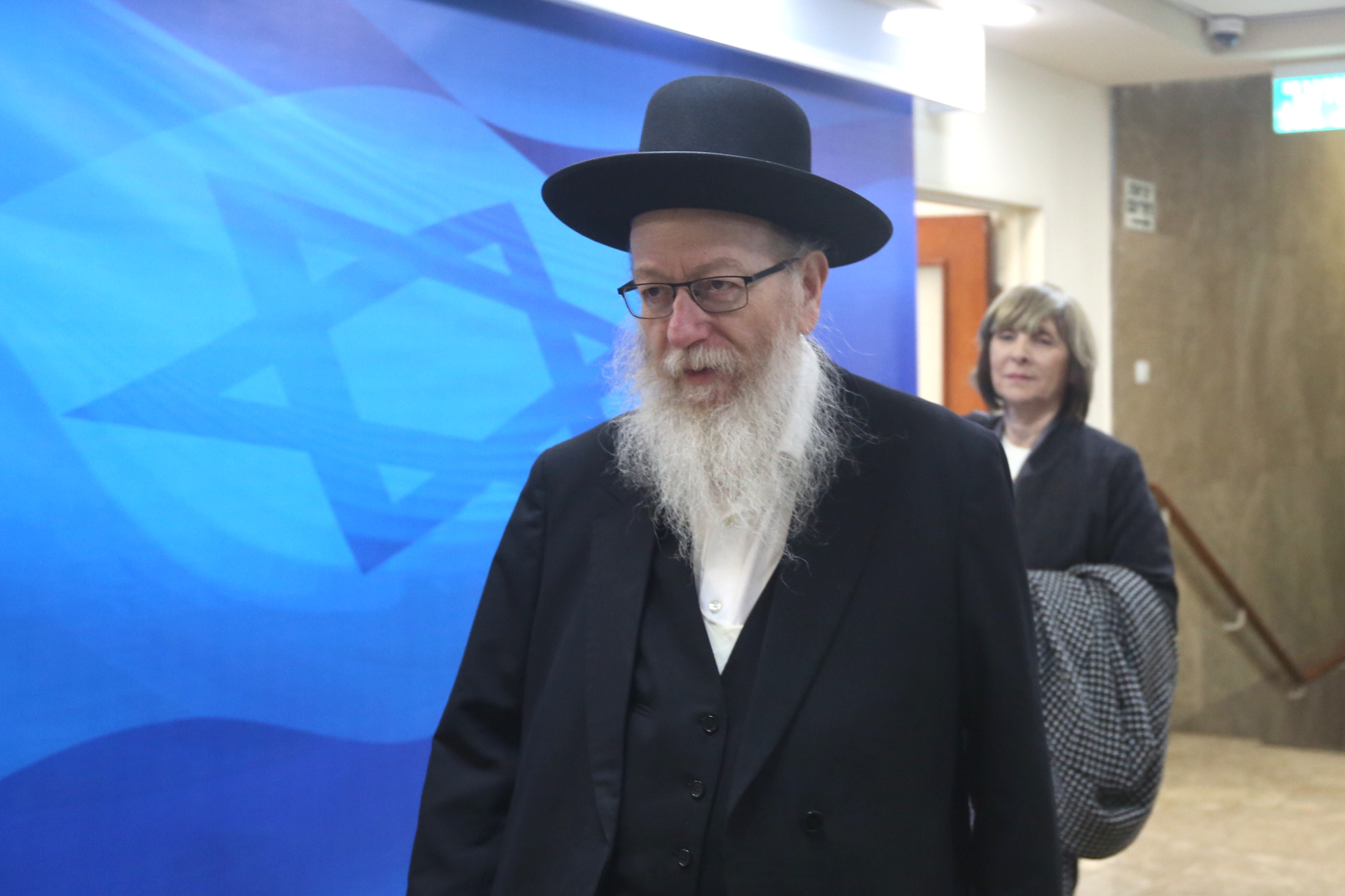 יעקב ליצמן(צילום - מרק ישראל סלם)