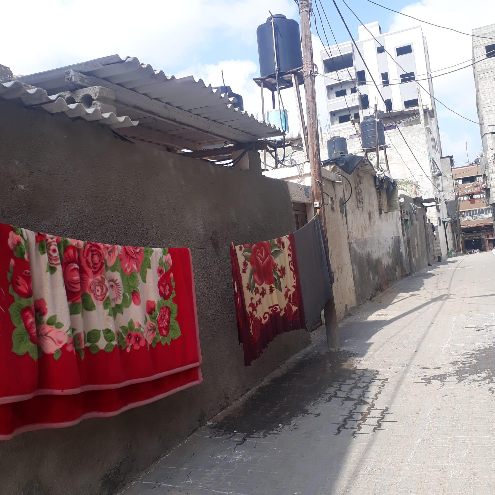 הרובע היהודי בעזה. צילום: לילא עבד אל נור