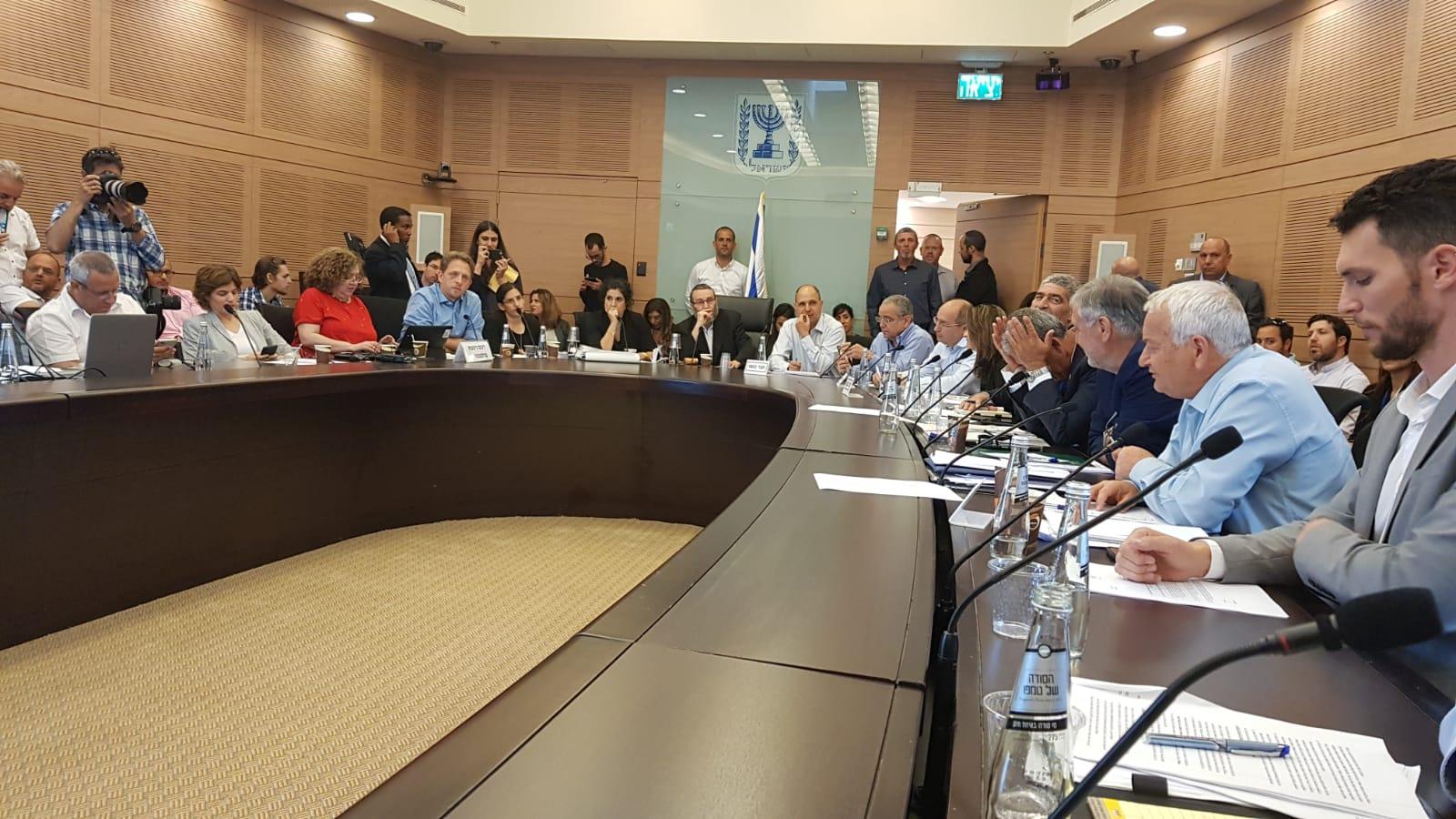 ועדת הכספים של הכנסת. צילום: אביאל מגנזי, דוברות הכנסת