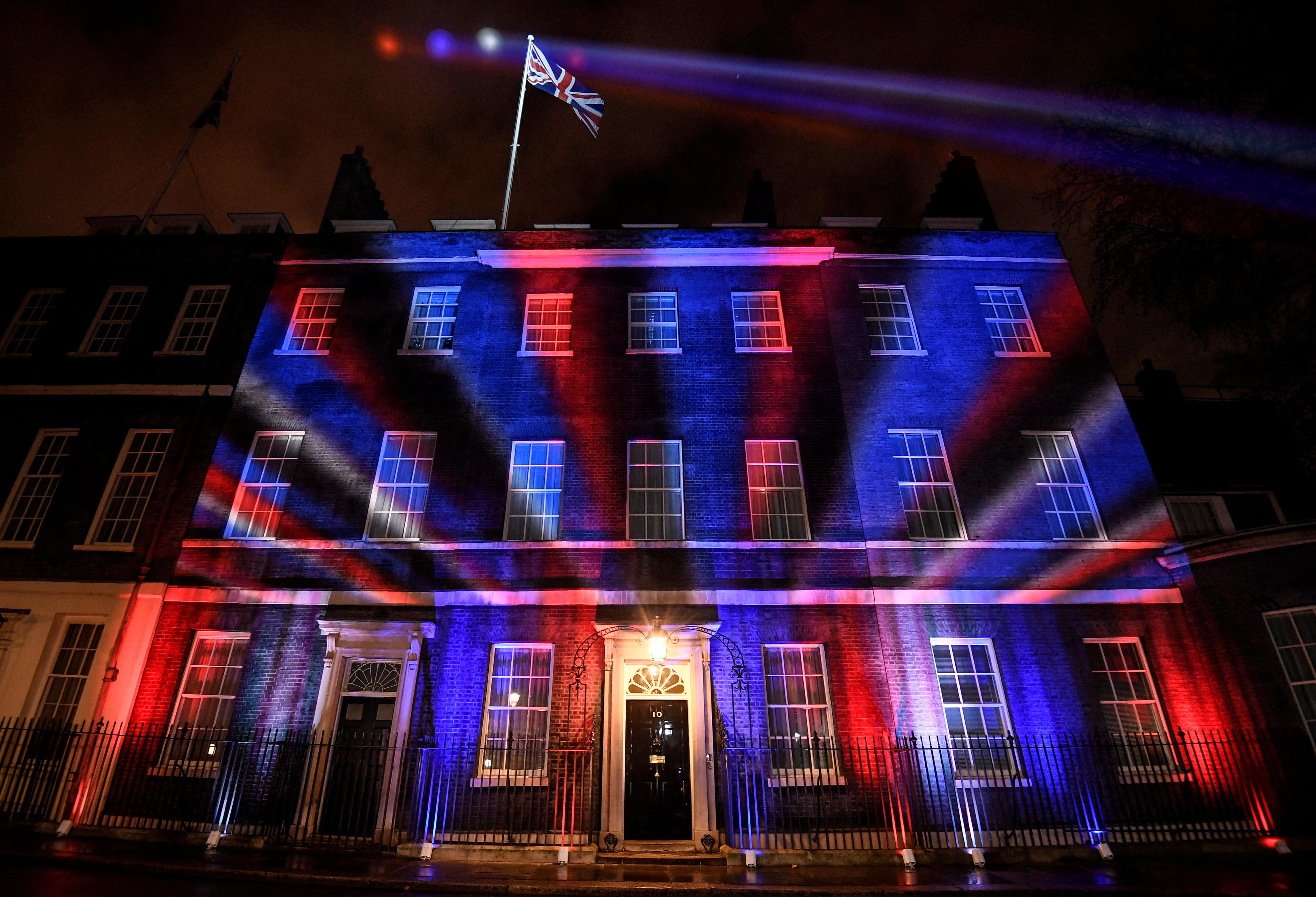 הברקזיט בלונדון. צילום: רויטרס