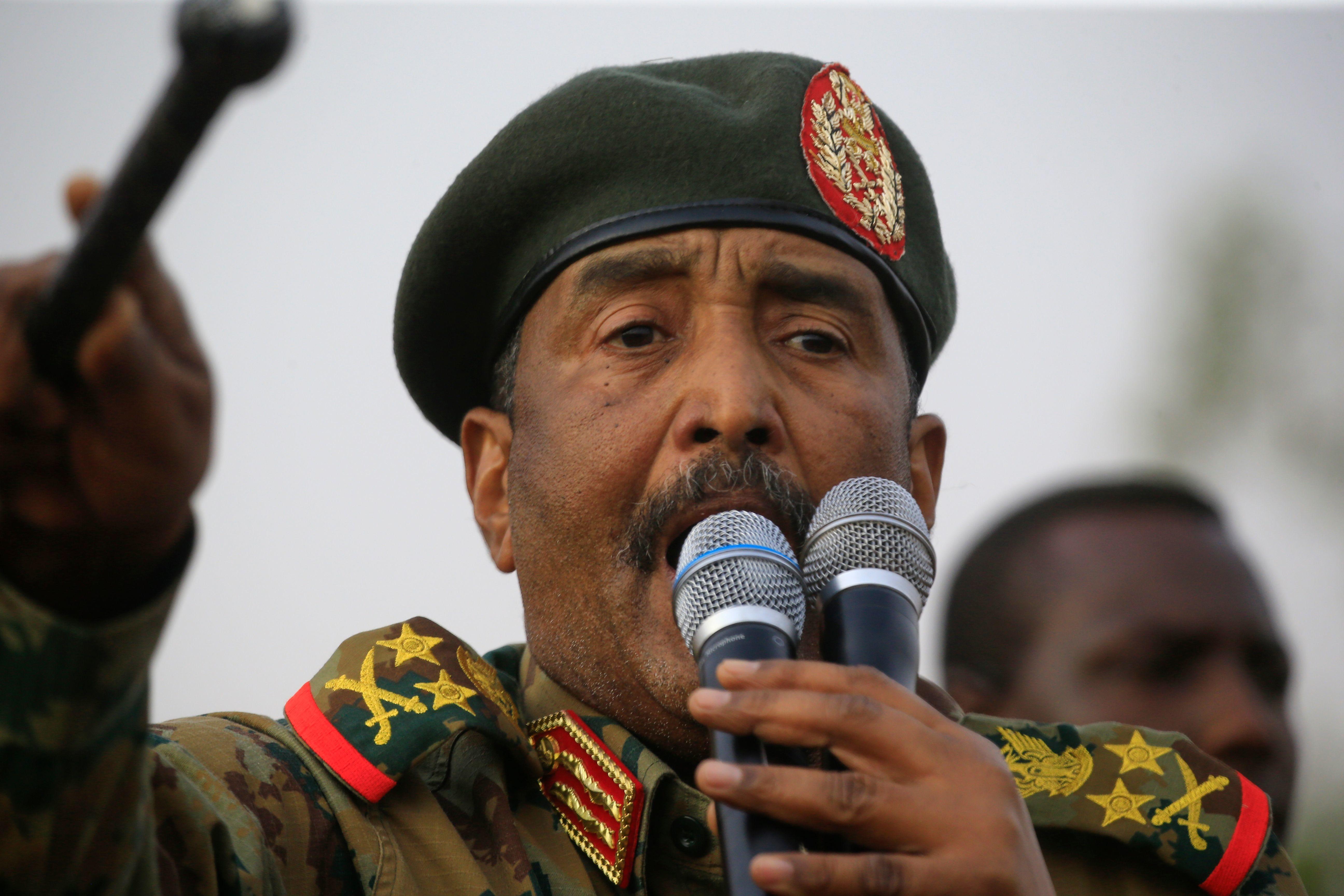 נשיא סודן הזמני, עבד אל-פתאח בורהאן. צילום: Getty Images