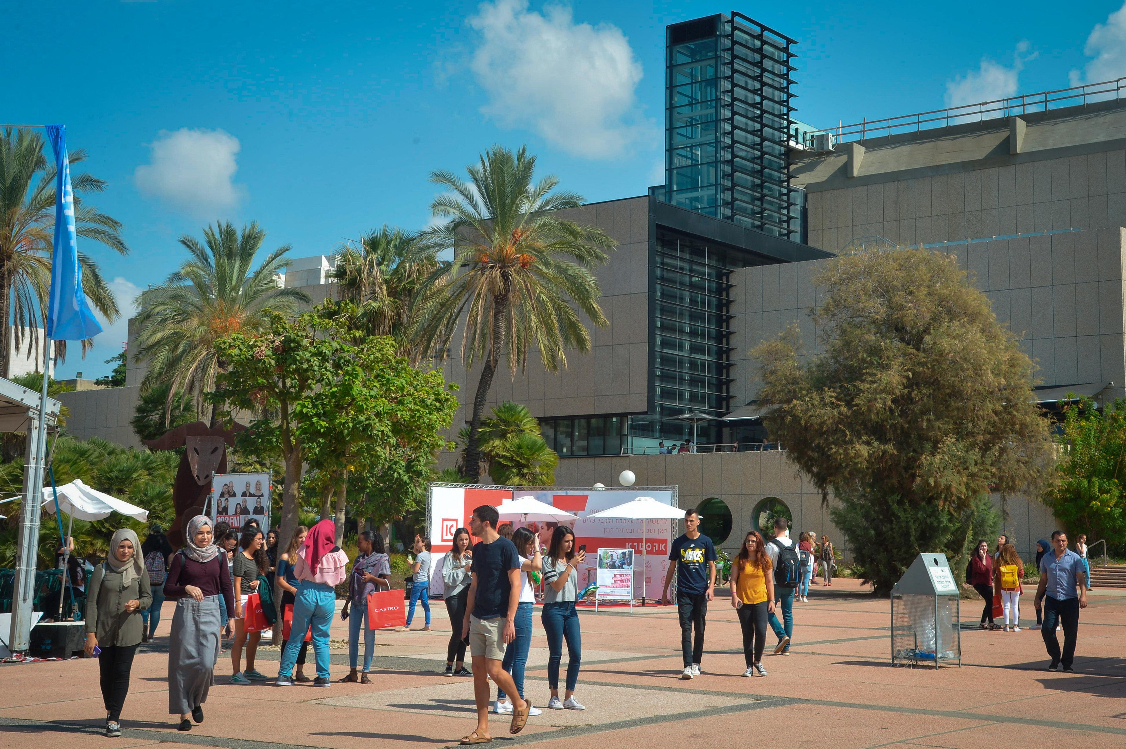 סטודנטים באוניברסיטת תל אביב (אילוסטרציה). צילום: פלאש 90