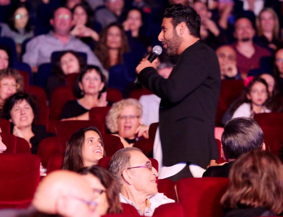 כישוף? אהרון שר עבור רוזנבלום בקהל