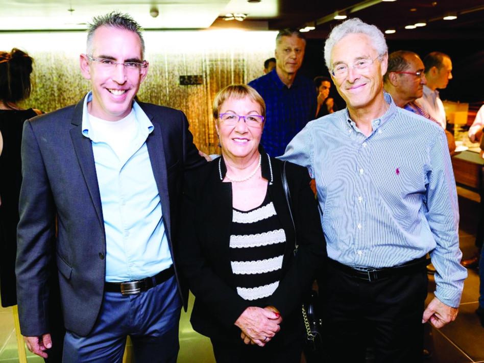 דב הלפרין, אסתר לבנון ותומר טבריה (צילום: אורן כרמלי)
