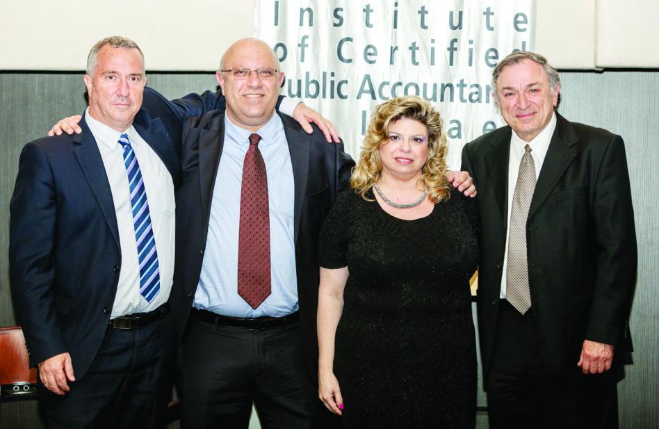יוסי גספר, אלינה פרנקל רונן, פני קימלמן ויזהר קנה (צילום: מיכאל גולדברג)