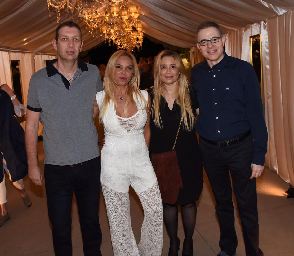 דני וצילי נווה עם איילה ובועז מולדבסקי