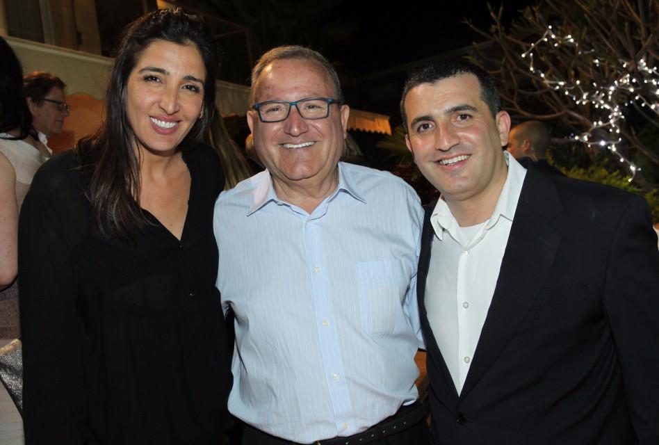 אבי, לאון ולירון אדרי