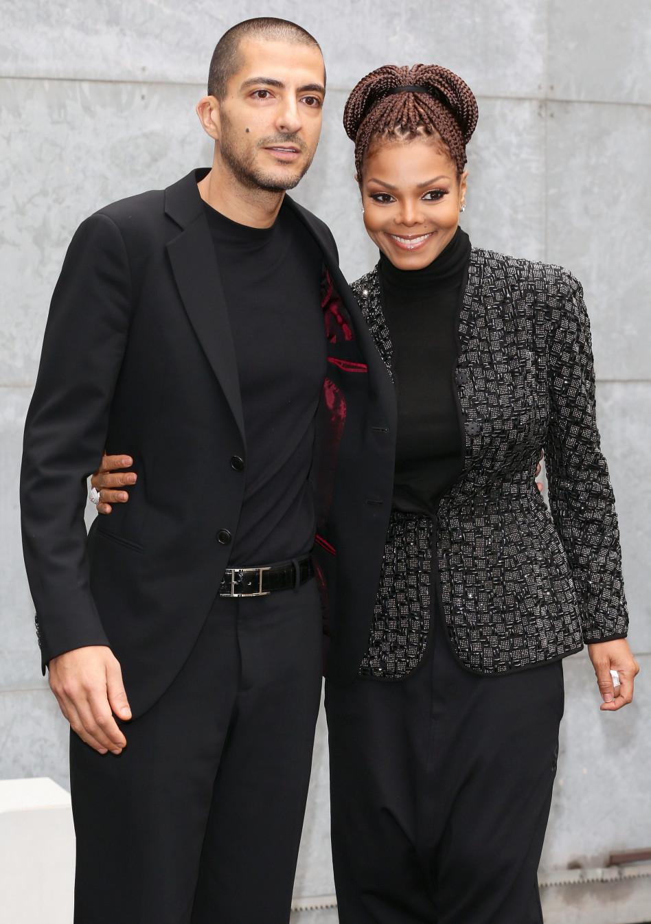 הורות מאוחרת? ג'קסון עם וויסאם אל מאנה (צילום: Getty images)