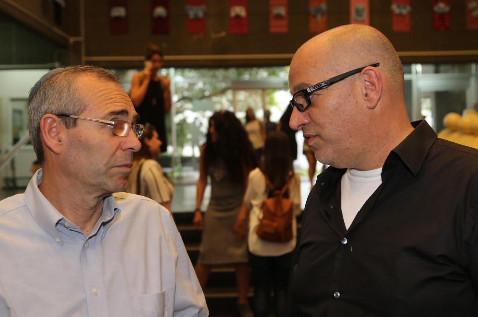 ערן נוימן ודוד פסיג (צילום: סיון פרג')