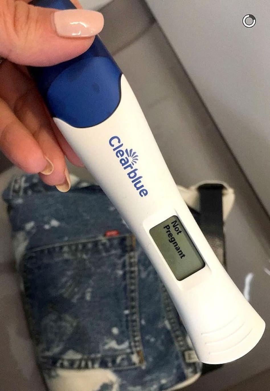 לא בהריון! תוצאת הבדיקה של קים קרדשיאן (צילום מסך)
