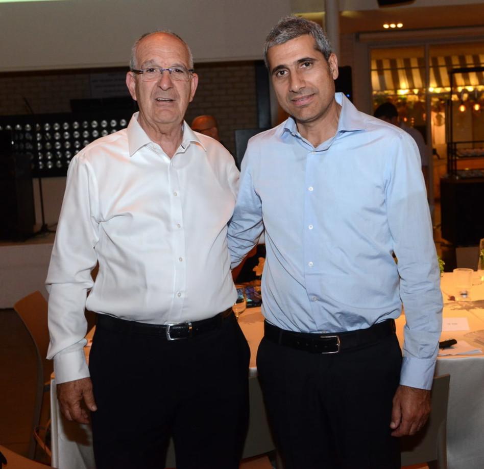 שמשון הראל ואמיר לוי (צילום: איתי בלסון)
