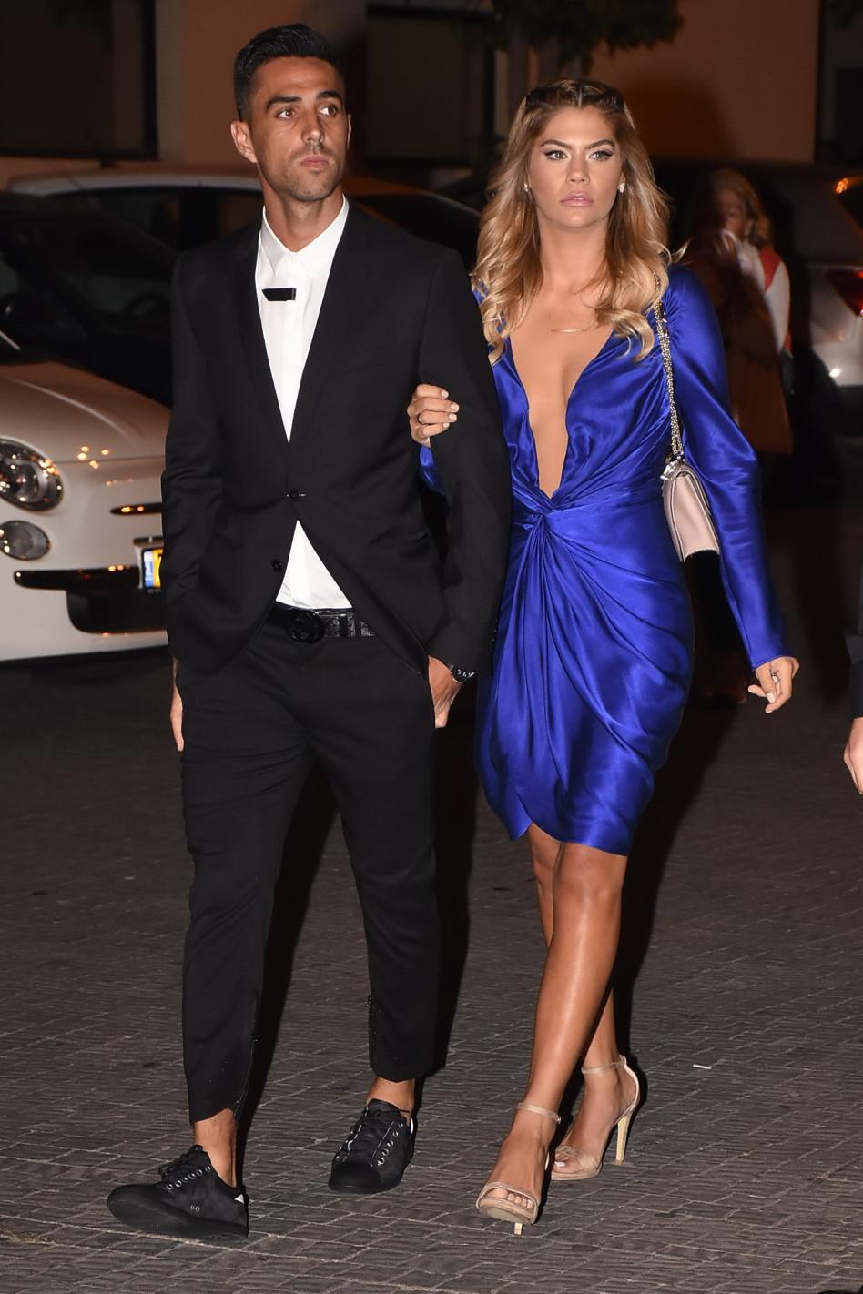 ערן זהבי ואשתו לבושים כראוי