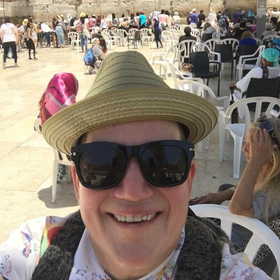 יס, הנה הכותל המערבי. דלריה בירושלים (פייסבוק)