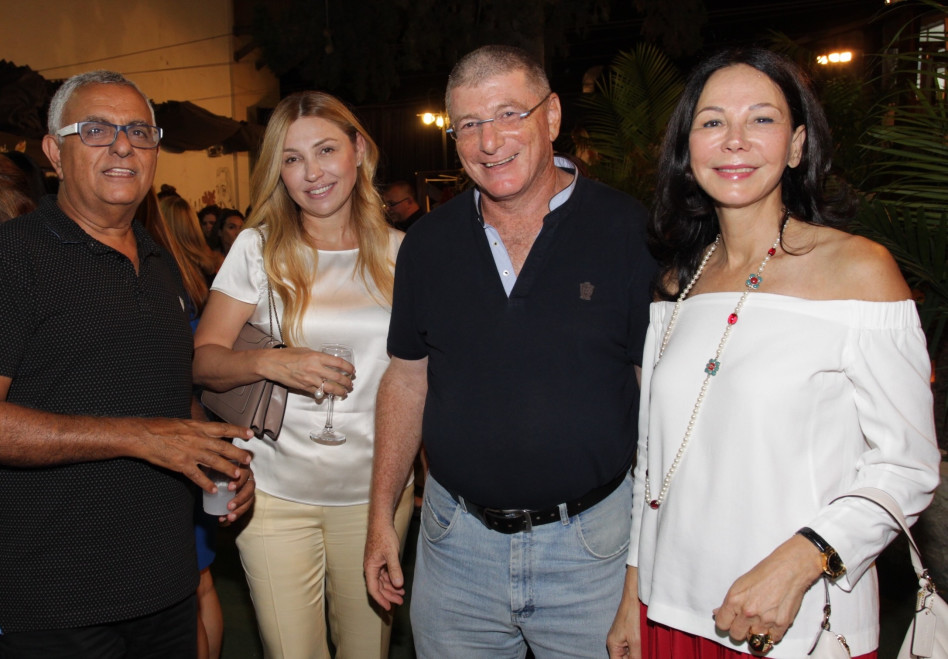 פנינה רמון, אליעזר שקדי, אירמה אורנשטיין וצבי ימיני